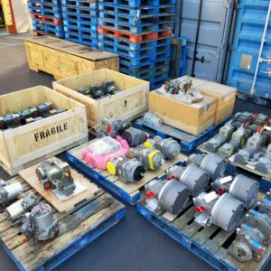 Turbine Fuel water and Gas Valves